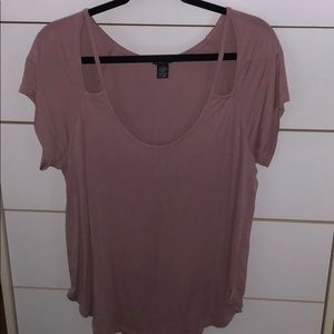 Dusty rose shirt